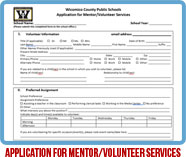 Mentoring Application