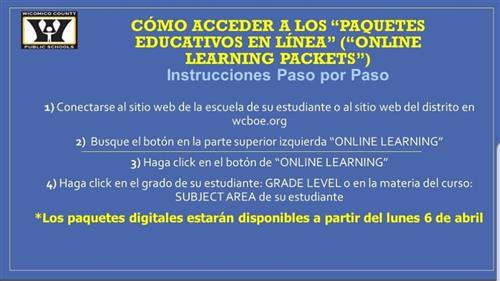 Online Learning Spanish