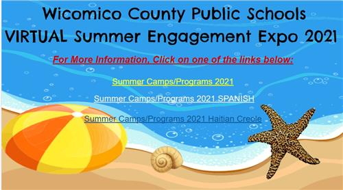Virtual Summer Engagement Expo