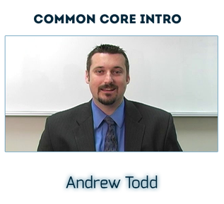 Andrew Todd Common Core Interview