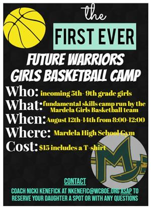 Future Warriors Clinck Aug. 12-14