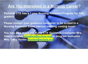 Nursing Career interest meeting