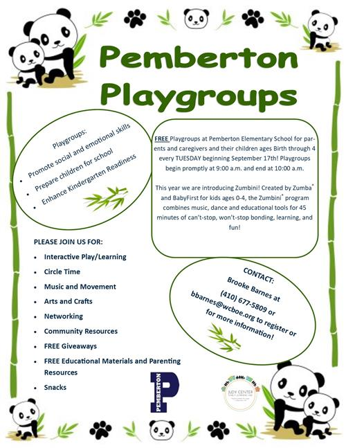 Playgroups at Pemberton