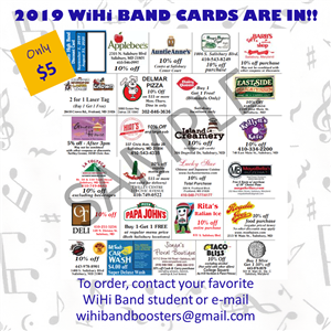 band cards