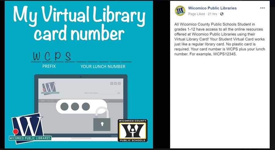 Virtual Library Card