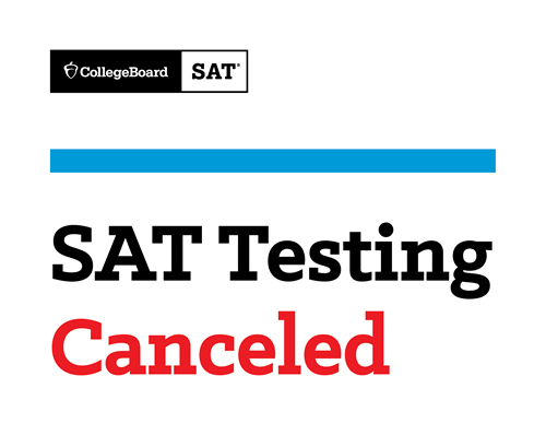 MAY SAT Canceled