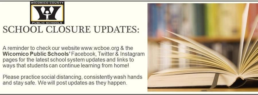 March WCPS School Closure Info