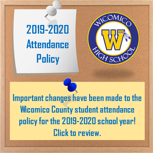 2019-20 Attendance Policy