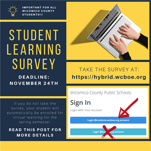 Student Learning Survey - by 11/24/2020