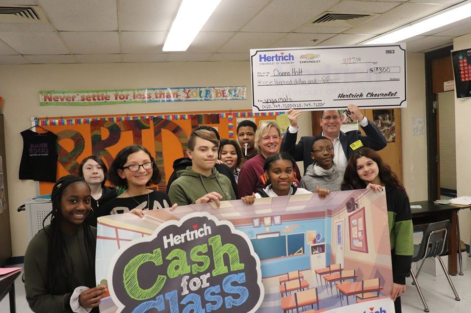 Hertrich's Cash for Class Winner