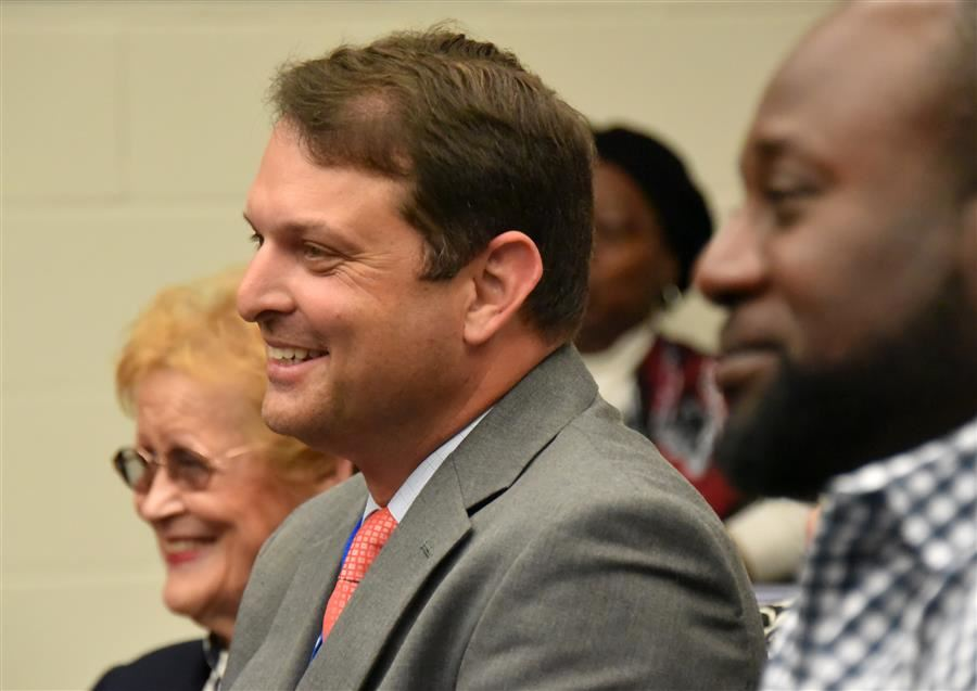 Pinehurst Principal Kevin Smith