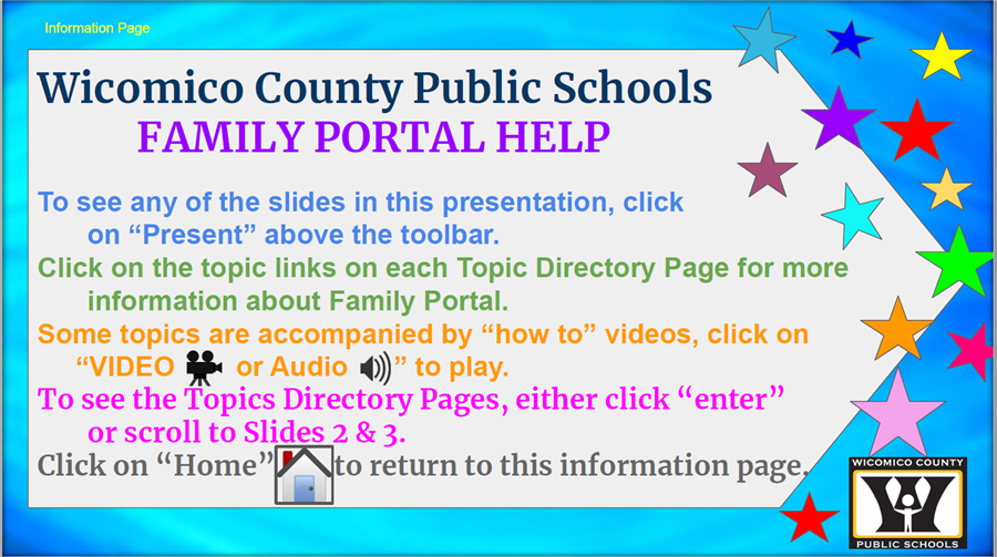 Family Portal Tutorials