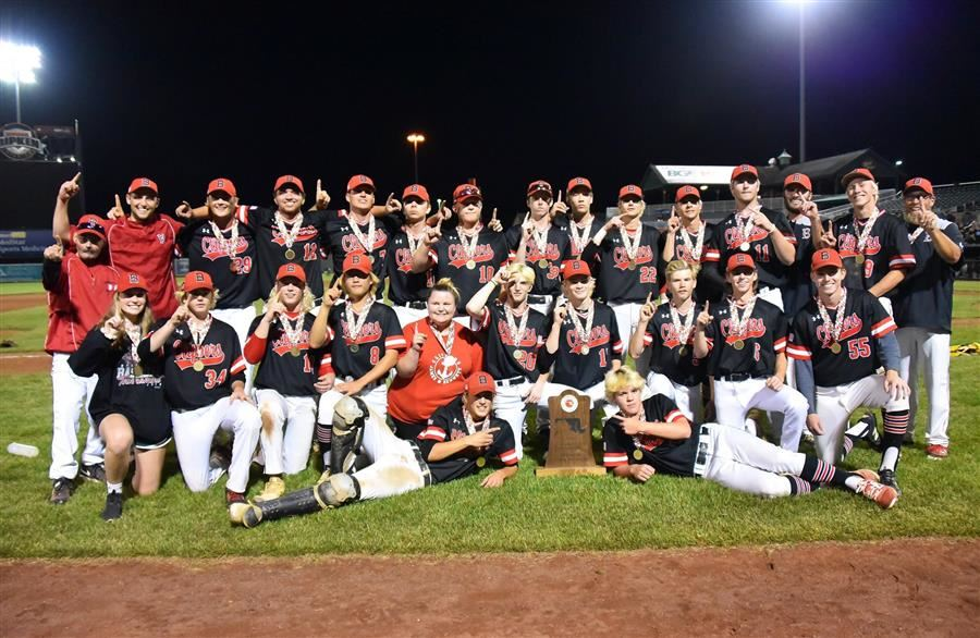 James M. Bennett Baseball Team Wins Class 3-A State Championship