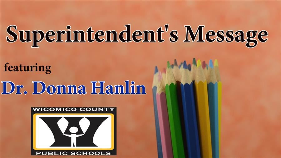 Superintendent's Monthly Message