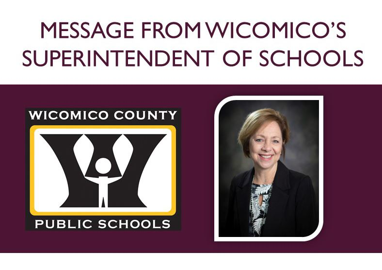 Weekly Superintendent's Message