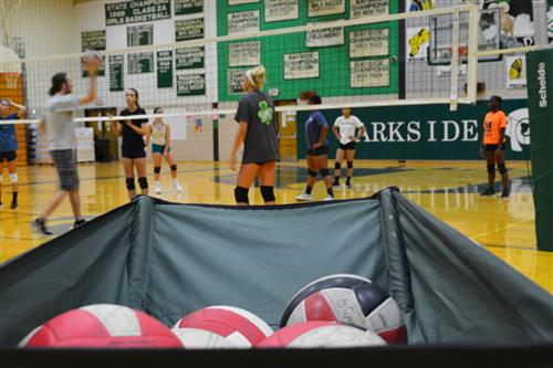 Parkside Volleyball Practice